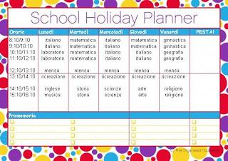Tabelle scolastiche