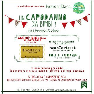 Capodanno per bambini a Parma con Mamma Shalma e Parmaetica