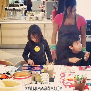 Mamma Shalma da Ikea Parma per Parmakids